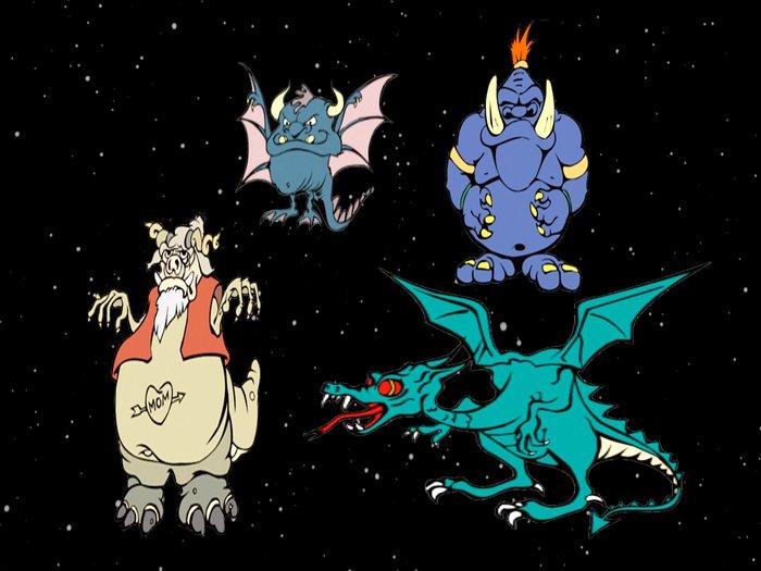 Halloween 4 Roaring Monsters