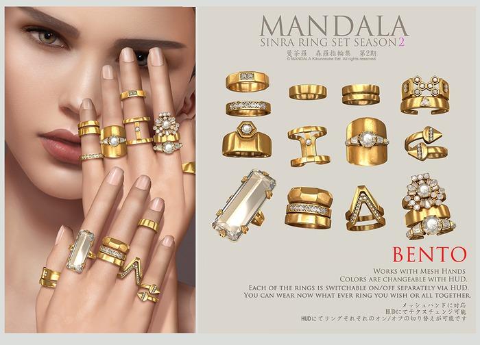 [MANDALA]Sinra Rings Season2-wear ME to unpack'
