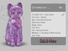 KittyCatS Box - ♀ St. Paddy's Girl - Lucky Dream PETITE