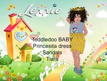 Lexxie ToddleeDoo Baby Princesita