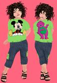 Lexxie ToddleeDoo Kid Mickey Barney