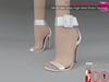 %50WINTERSALE Full Perm Silk Buckle Strap High Heel Bridal Sandals Ocacin Killer Heel, Voluptuous, Slink, Maitreya