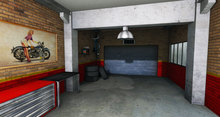 UC - Anthony Garage - Backdrop