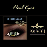 Amacci Real Eyes ~ Golden Green ***PROMO***