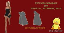 Duck Girl BabyDoll Maitreya / Altamura / Ruth