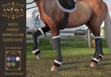 :: ANTAYA :: WHRH Horse knitted bandages \ Original mesh