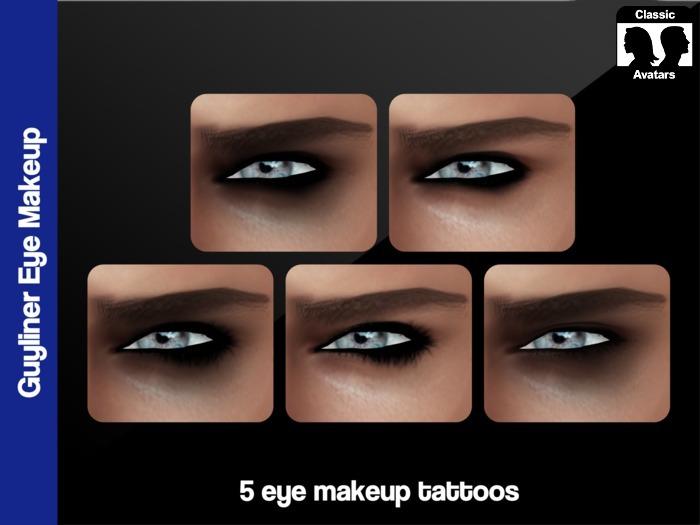 .:Glamorize:. Guyliner Eye Makeup For System Avatars
