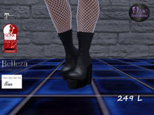 PBW Gothic Wedge Boots