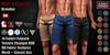 GAS [Men's Shorts Brandon - 14 Colors w/HUD FATPACK]