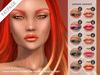 "alaskametro<3 ""Ocean Sunset"" makeup palette - FATPACK - CATWA, LELUTKA, OMEGA applier HUD + Classic avatar layers"
