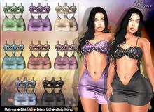 ::Girly's Inc.:: Keira Silk / Velvet Dress - FatPack