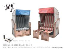 Soy. German Hooded Beach Chair [addme]