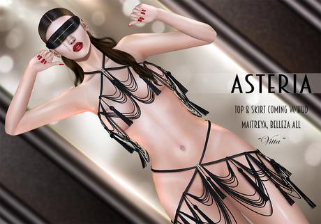 "Asteria ""Vitta"" [Maitreya/Belleza] Skirt - Black"