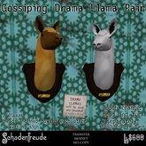 Schadenfreude Drama Llama Gossipy Pair