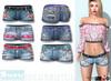 L&B - Denim Shorts - Boho