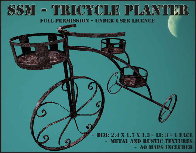 SSM - Tricycle Planter