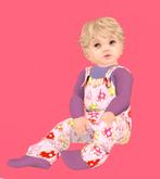 Lexxie Totsipop Pink Lavender Overalls Infant