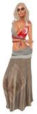 ALB JALA skirt & top G - SLink Maitreya Belleza