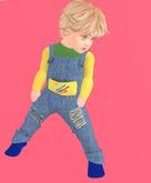 Lexxie Totsipop Denim Overalls Baby