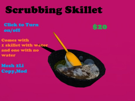 Scrubbing Skillet