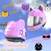 719 Racing - Nekomimi Helmet [Pink]