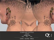 Oz Design : Compass Tattoo