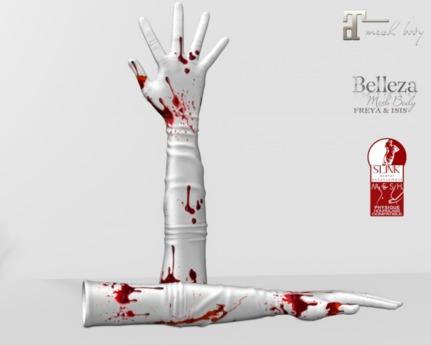 ~PP~ Long Bloody Bento Gloves