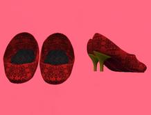 Lexxie Dinkies Stilettos Red