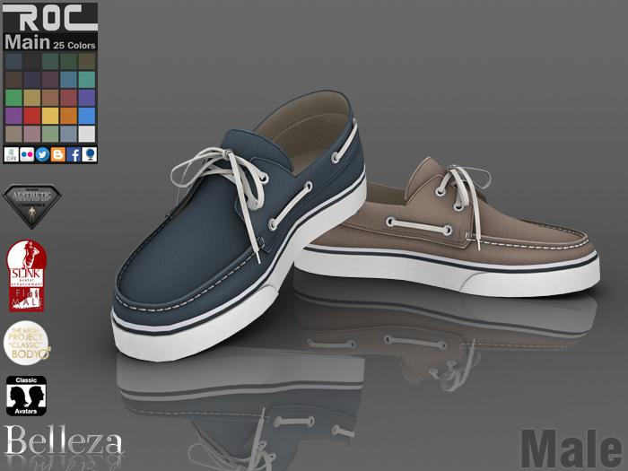 ::ROC:: Canvas Sneaker! Docksides (MALE)