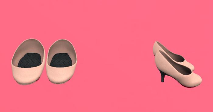 Lexxie Dinkies stilettos Pastel Rose