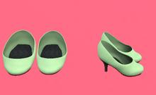 Lexxie Dinkies stilettos Mint