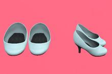 Lexxie Dinkies stilettos Pastel Sky