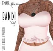 Paper.Sparrow - Bambi Top - Blush