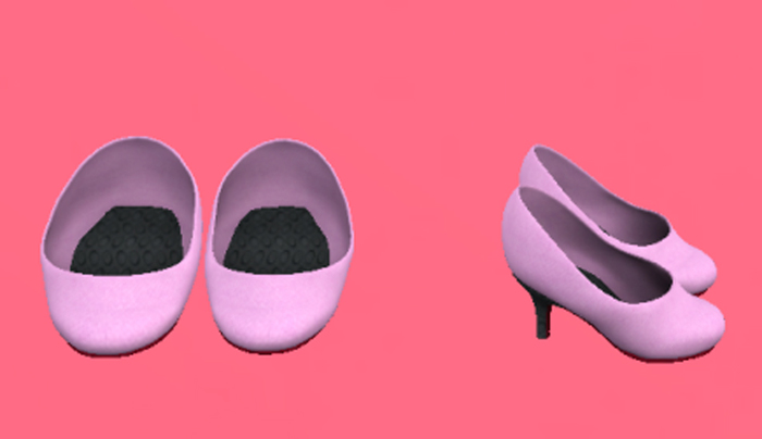 Lexxie Dinkies stilettos Pastel Lilac