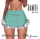 Paper.Sparrow - Bambi Skirt - Floral
