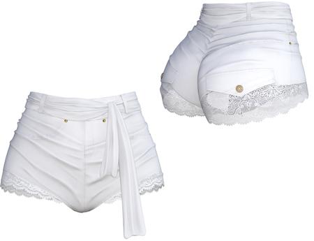 adorsy - Margot Shorts White - Maitreya