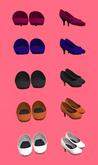 Lexxie Dinkies Stilettos Five Solid Colors (2)