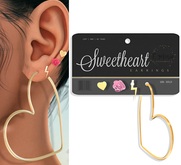 e.marie // Sweetheart Earring Set - 18K
