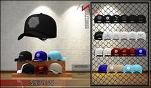 [BrunStyle] Stylish Cap - Black