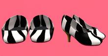 Lexxie Dinkies stilettos Zebra