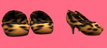 Lexxie Dinkies stilettos Leopard