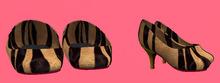 Lexxie Dinkies stilettos Tiger