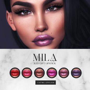 . MILA . July Lipstick Gift (Catwa)