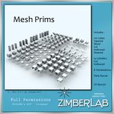 Mesh Prims full perm - ZimberLab Mesh Prims A Basic