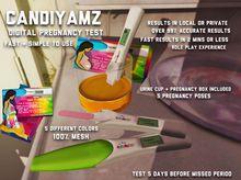 *CY* Pregnancy Test & Poses // (Add)