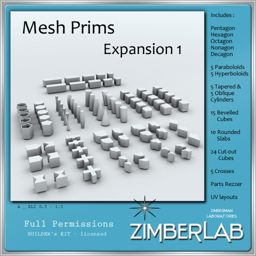 ZimberLab - Mesh Prims A - Exp 1  DELIVERY