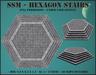 Ssm   hexagon stairs