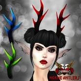 VENGE - Original Mesh - Herne Antler - Dark Noel *gift*