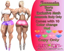 S<3T jucmeia Shorts (Amasonia Body Only)DEMO