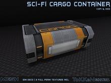 **To(kk)en Industries** Sci-Fi Cargo Container - Mesh